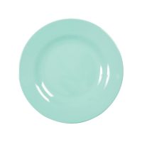 ASSIETTE DESSERT MELAMINE DARK MINT
