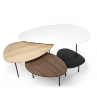 TABLE D'APPOINT KRISTOF LOT DE 3
