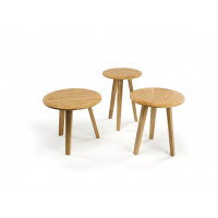TABLE D'APPOINT LOCKI LOT DE 3