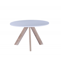 TABLE RONDE VAIK 120X74CM