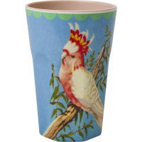 GOBELET MELAMINE TALL COCKATOO