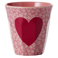 GOBELET MELAMINE MEDIUM HEART