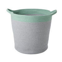 PANIERS RONDS GREY/GREEN LOT DE 2