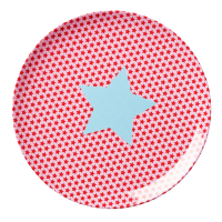 ASSIETTE MELAMINE KIDS GIRLS STAR