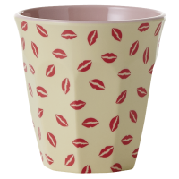 GOBELET MELAMINE MEDIUM KISS