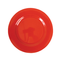 ASSIETTE DESSERT MELAMINE RED
