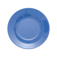 ASSIETTE DESSERT MELAMINE DUSTY BLUE