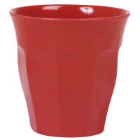 GOBELET MELAMINE MEDIUM RED