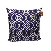 TAIE COUSSIN MOJO CARRE BLEU 45X45