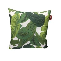 TAIE COUSSIN MOJO CARRE FEUILLAGE 45X45