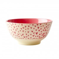 BOL MELAMINE MEDIUM SMALL HEART
