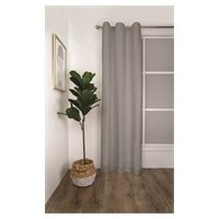 RIDEAUX A OEILLET THERMAL 120X223 SEVILLE SILVER
