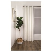 RIDEAUX A OEILLET THERMAL 120X223 SEVILLE IVORY