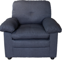 Fauteuil Gibraltar anthracite