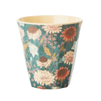 GOBELET MELAMINE MEDIUM FALL FLOWER
