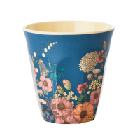 GOBELET MELAMINE MEDIUM FLOWER COLLAGE