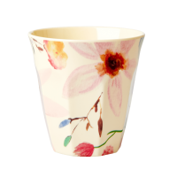 GOBELET MELAMINE MEDIUM SELMAS FLOWER