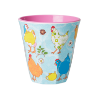 GOBELET MELAMINE MEDIUM HEN