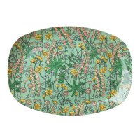 ASSIETTE RECTANGULAIRE MELAMINE LUPIN