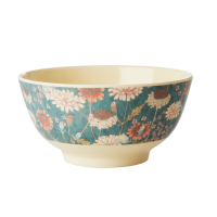 BOL MELAMINE MEDIUM FALL FLOWER