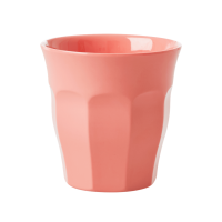 GOBELET MELAMINE MEDIUM TRUE CORAL