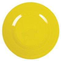 ASSIETTE DESSERT MELAMINE YELLOW