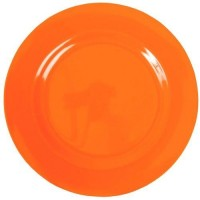 ASSIETTE DESSERT MELAMINE ORANGE