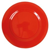 ASSIETTE MELAMINE RED