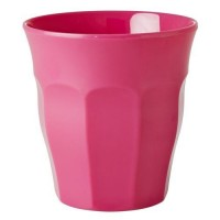 GOBELET MELAMINE MEDIUM FUSCHIA