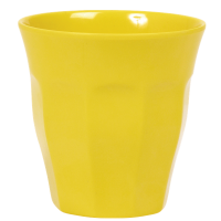 GOBELET MELAMINE MEDIUM YELLOW